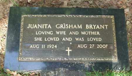 BRYANT, JUANITA - Garland County, Arkansas | JUANITA BRYANT - Arkansas Gravestone Photos