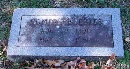 BUCKLES, HOMER F. - Garland County, Arkansas | HOMER F. BUCKLES - Arkansas Gravestone Photos