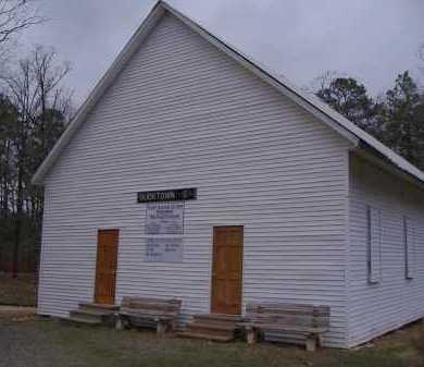 *BUCKVILLE CEMETERY, CHURCH - Garland County, Arkansas   CHURCH *BUCKVILLE CEMETERY - Arkansas Gravestone Photos