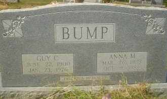 BUMP, GUY  C. - Garland County, Arkansas | GUY  C. BUMP - Arkansas Gravestone Photos