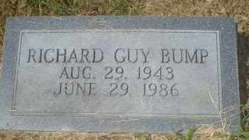 BUMP, RICHARD GUY - Garland County, Arkansas | RICHARD GUY BUMP - Arkansas Gravestone Photos