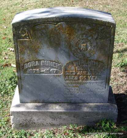 BUNCH, WILLIAM - Garland County, Arkansas | WILLIAM BUNCH - Arkansas Gravestone Photos