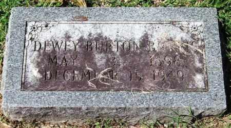 BURRIS, DEWEY BURTON - Garland County, Arkansas | DEWEY BURTON BURRIS - Arkansas Gravestone Photos