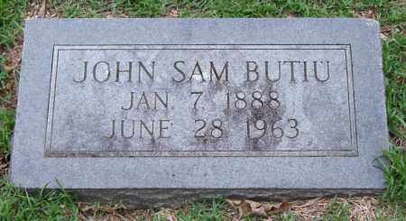 BUTIU, JOHN SAM - Garland County, Arkansas | JOHN SAM BUTIU - Arkansas Gravestone Photos