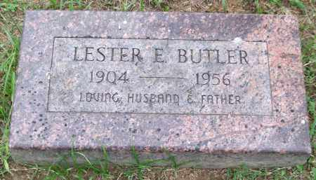 BUTLER, LESTER E. - Garland County, Arkansas | LESTER E. BUTLER - Arkansas Gravestone Photos