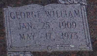 BUTTRISS, GEORGE WILLIAM (CLOSE UP) - Garland County, Arkansas | GEORGE WILLIAM (CLOSE UP) BUTTRISS - Arkansas Gravestone Photos