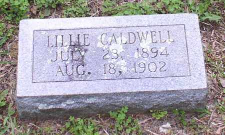 CALDWELL, LILLIE - Garland County, Arkansas | LILLIE CALDWELL - Arkansas Gravestone Photos