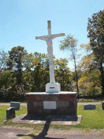 *CALVARY CEMETERY, CRUCIFIX - Garland County, Arkansas | CRUCIFIX *CALVARY CEMETERY - Arkansas Gravestone Photos
