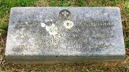 CAMPBELL (VETERAN WWI), JAMES OTT - Garland County, Arkansas | JAMES OTT CAMPBELL (VETERAN WWI) - Arkansas Gravestone Photos