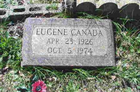 CANADA, EUGENE - Garland County, Arkansas | EUGENE CANADA - Arkansas Gravestone Photos