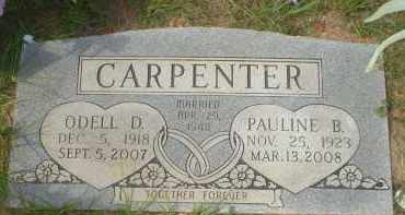 CARPENTER, PAULINE B. - Garland County, Arkansas | PAULINE B. CARPENTER - Arkansas Gravestone Photos