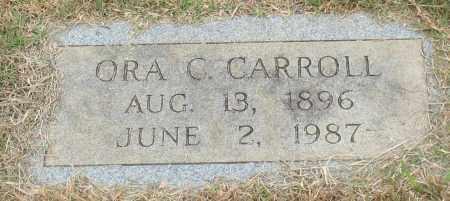 CARROLL, ORA C. - Garland County, Arkansas | ORA C. CARROLL - Arkansas Gravestone Photos