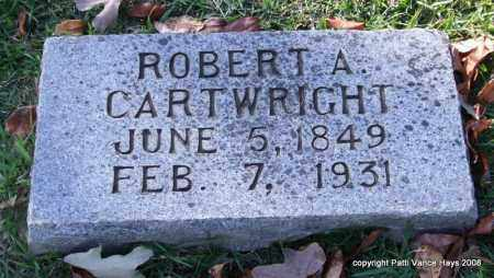 CARTWRIGHT, ROBERT A. - Garland County, Arkansas | ROBERT A. CARTWRIGHT - Arkansas Gravestone Photos