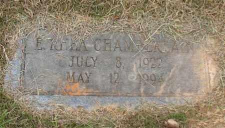 CHAMBERLAIN, E. RHEA - Garland County, Arkansas | E. RHEA CHAMBERLAIN - Arkansas Gravestone Photos