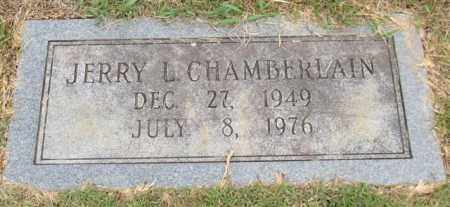CHAMBERLAIN, JERRY L. - Garland County, Arkansas | JERRY L. CHAMBERLAIN - Arkansas Gravestone Photos