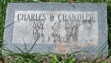 CHANDLER, CHARLES W. - Garland County, Arkansas | CHARLES W. CHANDLER - Arkansas Gravestone Photos