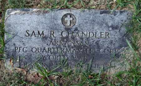 CHANDLER (VETERAN WWI), SAM R - Garland County, Arkansas | SAM R CHANDLER (VETERAN WWI) - Arkansas Gravestone Photos