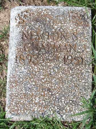 CHAPMAN, NEWTON S. - Garland County, Arkansas | NEWTON S. CHAPMAN - Arkansas Gravestone Photos
