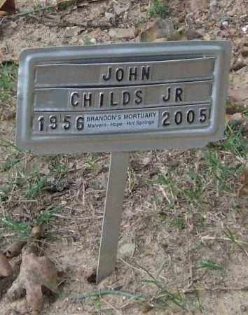 CHILDS, JR., JOHN - Garland County, Arkansas | JOHN CHILDS, JR. - Arkansas Gravestone Photos