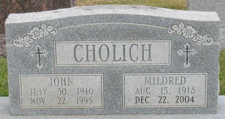 CHOLICH, MILDRED - Garland County, Arkansas | MILDRED CHOLICH - Arkansas Gravestone Photos