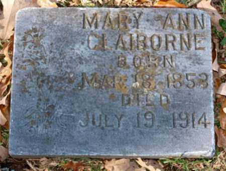 CLAIBORNE, MARY ANN - Garland County, Arkansas | MARY ANN CLAIBORNE - Arkansas Gravestone Photos