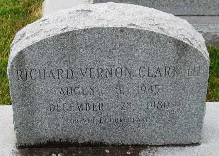 CLARK, III, RICHARD VERNON - Garland County, Arkansas | RICHARD VERNON CLARK, III - Arkansas Gravestone Photos