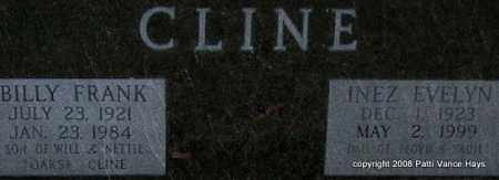CLINE, BILLY FRANK (CLOSE UP) - Garland County, Arkansas | BILLY FRANK (CLOSE UP) CLINE - Arkansas Gravestone Photos