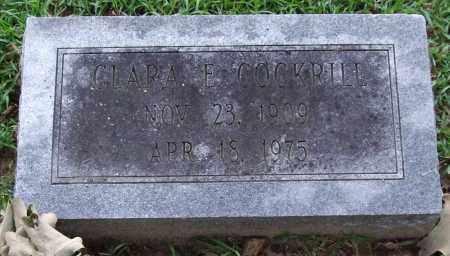 COCKRILL, CLARA E. - Garland County, Arkansas | CLARA E. COCKRILL - Arkansas Gravestone Photos