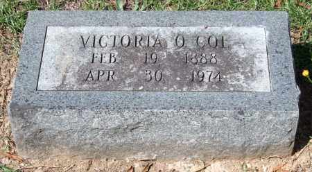 COE, VICTORIA O. - Garland County, Arkansas | VICTORIA O. COE - Arkansas Gravestone Photos