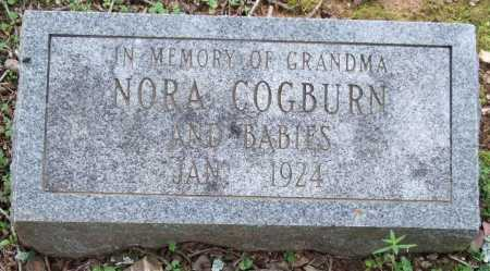 COGBURN, NORA - Garland County, Arkansas | NORA COGBURN - Arkansas Gravestone Photos