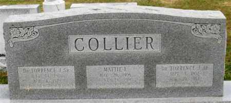 COLLIER, SR., DR., TORRENCE J. - Garland County, Arkansas | TORRENCE J. COLLIER, SR., DR. - Arkansas Gravestone Photos