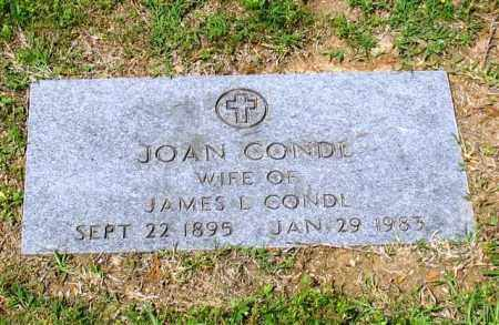 CONDL, JOAN - Garland County, Arkansas | JOAN CONDL - Arkansas Gravestone Photos