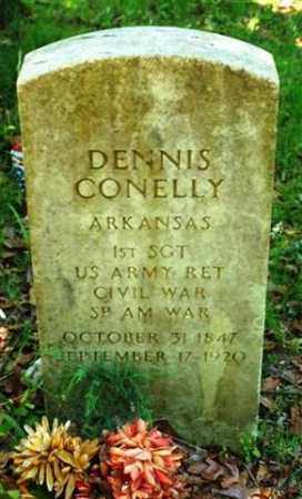 CONNELLY (VETERAN 2 WARS), DENNIS - Garland County, Arkansas | DENNIS CONNELLY (VETERAN 2 WARS) - Arkansas Gravestone Photos
