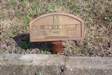 CONWAY, BEULAH MAE (FOOTMARKER) - Garland County, Arkansas | BEULAH MAE (FOOTMARKER) CONWAY - Arkansas Gravestone Photos
