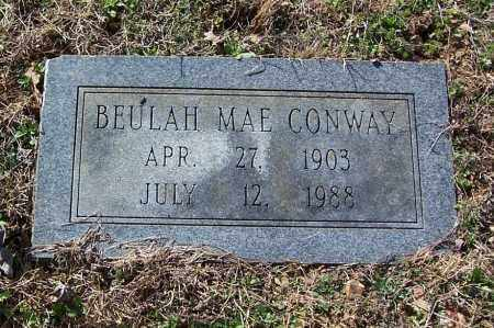CONWAY, BEULAH MAE - Garland County, Arkansas | BEULAH MAE CONWAY - Arkansas Gravestone Photos