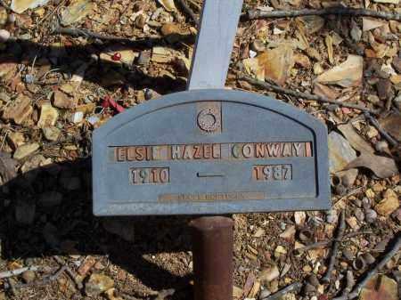 CONWAY, ELSIE HAZEL - Garland County, Arkansas | ELSIE HAZEL CONWAY - Arkansas Gravestone Photos