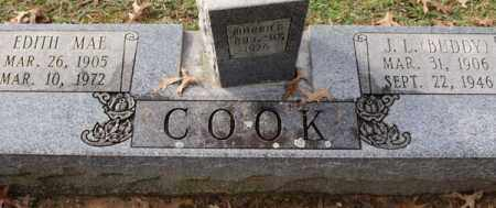 COOK, EDITH MAE - Garland County, Arkansas | EDITH MAE COOK - Arkansas Gravestone Photos
