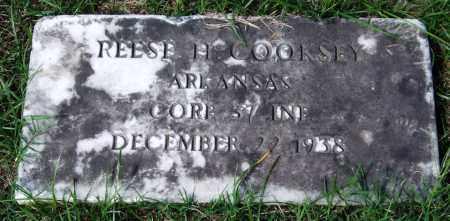 COOKSEY (VETERAN), REESE H - Garland County, Arkansas | REESE H COOKSEY (VETERAN) - Arkansas Gravestone Photos