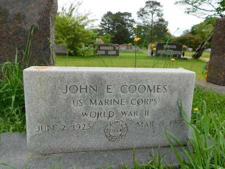 COOMES (VETERAN WWII), JOHN E - Garland County, Arkansas | JOHN E COOMES (VETERAN WWII) - Arkansas Gravestone Photos