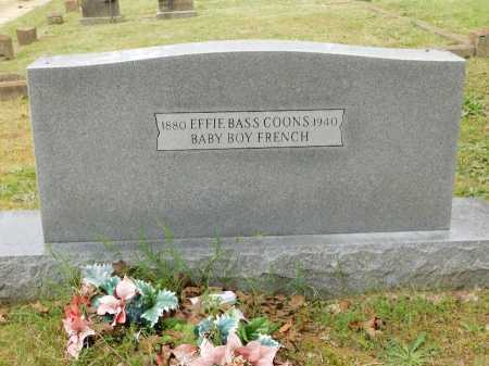 BASS COONS, EFFIE - Garland County, Arkansas | EFFIE BASS COONS - Arkansas Gravestone Photos