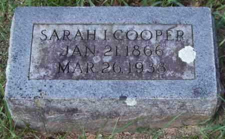 COOPER, SARAH I. - Garland County, Arkansas | SARAH I. COOPER - Arkansas Gravestone Photos