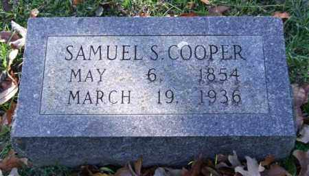 COOPER, SAMUEL S. - Garland County, Arkansas | SAMUEL S. COOPER - Arkansas Gravestone Photos