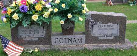 "COTNAM, JOHNNY R. ""J. R."" - Garland County, Arkansas | JOHNNY R. ""J. R."" COTNAM - Arkansas Gravestone Photos"