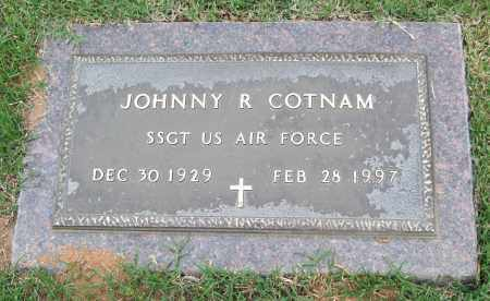 COTNAM (VETERAN), JOHNNY R. - Garland County, Arkansas | JOHNNY R. COTNAM (VETERAN) - Arkansas Gravestone Photos
