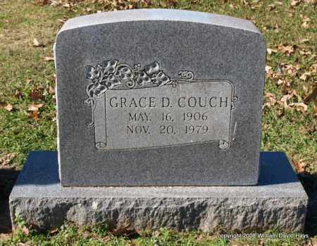 COUCH, GRACE D. - Garland County, Arkansas   GRACE D. COUCH - Arkansas Gravestone Photos