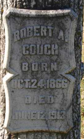 COUCH, ROBERT A. (CLOSE UP) - Garland County, Arkansas | ROBERT A. (CLOSE UP) COUCH - Arkansas Gravestone Photos