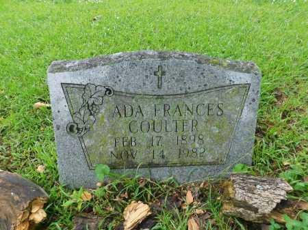 COULTER, ADA FRANCES - Garland County, Arkansas | ADA FRANCES COULTER - Arkansas Gravestone Photos