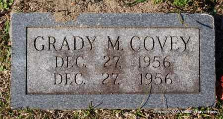 COVEY, GRADY M. - Garland County, Arkansas | GRADY M. COVEY - Arkansas Gravestone Photos