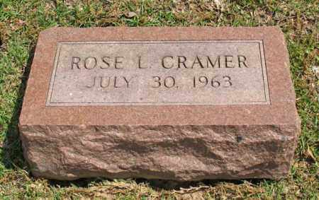CRAMER, ROSE L. - Garland County, Arkansas | ROSE L. CRAMER - Arkansas Gravestone Photos