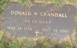 CRANDALL (VETERAN), DONALD W - Garland County, Arkansas | DONALD W CRANDALL (VETERAN) - Arkansas Gravestone Photos